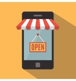 Mobile phone Online store concept vector image