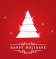 Holidays Greeting vector image vector image