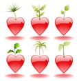 valentine elements vector image