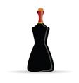 bottle of alcohol art vector image