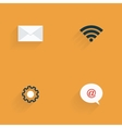 Social Media Objects vector image