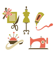 hand made objects vector image
