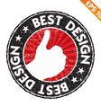 Stamp sticker best design collection - - E vector image