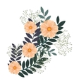 icon flower design vector image