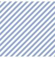 Blue geometric diagonal line seamless vector image vector image