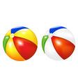 beach balls vector image