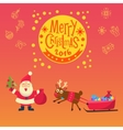 New Year 2016 christmas decoration Christmas vector image