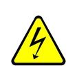 Sign danger 2305 vector image