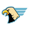 Simple Eagle Head vector image