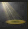 spotlight light effectlight beam isolated vector image