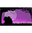 love scene vector image vector image