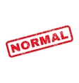 Normal Rubber Stamp vector image