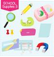 school supplies3 vector image