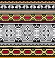 Spanish ornament vector image