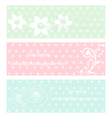 vintage rose and flower vector image vector image