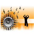 Music Jumper vector image
