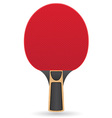 racket for table tennis ping pong vector image