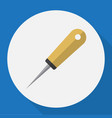 of tools symbol on awl flat vector image