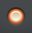 White button vector image