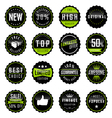 Collection of Premium Quality and Guarantee Labels vector image