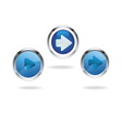 blue arrow icons 01 vector image
