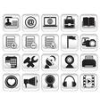 set community buttons icons part 2 vector image