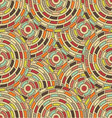 seamless pattern kaleidoscope vector image