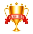 Best Seller Award vector image vector image