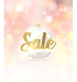 Happy Sale card vector image