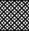 abstract art deco black geometric ornamental vector image