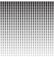 Hexagon Halftone Pattern vector image