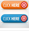 click here buttons vector image