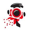 Photographer logo vector image