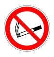 Sign no smoking 2405 vector image
