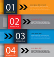 Modern Design template education template vector image