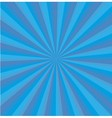 Blue background center line vector image