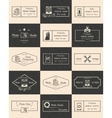 Set of Photo logos and badges vector image