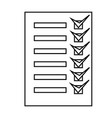 completed task icon vector image
