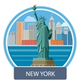 Statue of Liberty New York City vector image