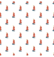 Ship of Columbus pattern cartoon style vector image vector image