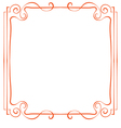 frame Element for design in retro style vector image