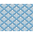 3D Square Box Net Seamless Pattern Background vector image