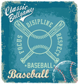 baseball classic ballgame vector image vector image