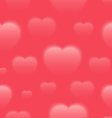 Seamless Valentines Day Pattern vector image vector image