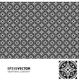 Black-white pattern 4 vector image