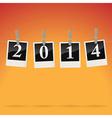 2014 on snapshots vector image