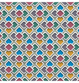 3d colored seamless pattern in islamic style vector image vector image