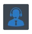 Reception operator icon vector image