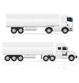 truck 06 vector image