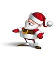 Smilling Santa vector image